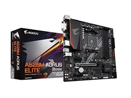 Las 5 mejores placas base A520 Procesadores AMD Ryzen (2021)