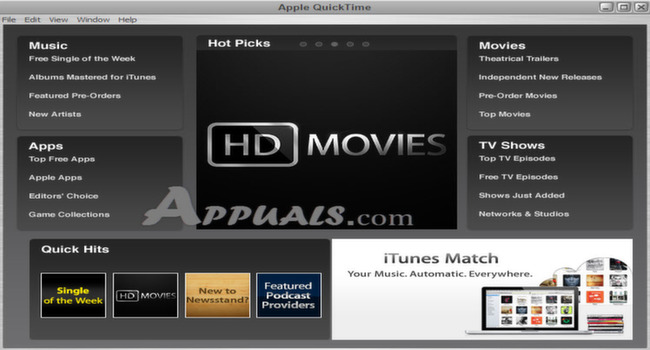 QuickTime Player 7 76 80 95Quicktime Player 7