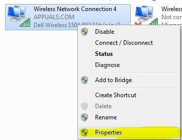 Wireless Network Properties