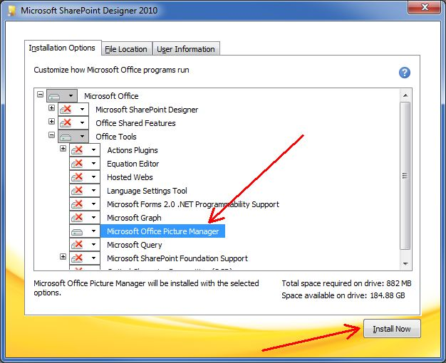 Install Microsoft Office Picture Manager In Office 2013