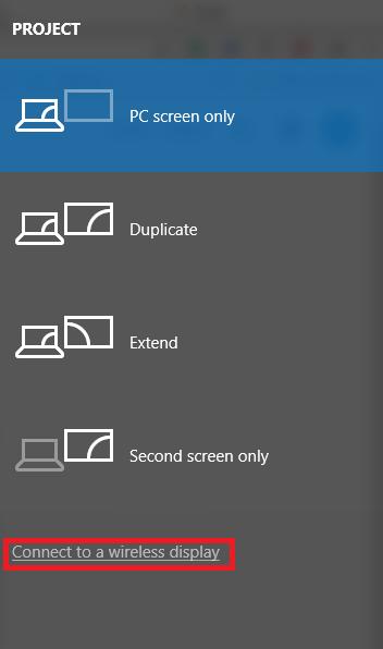How to Setup Screen Mirroring for a PC - Appuals com