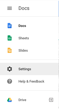how to work offline from google drive