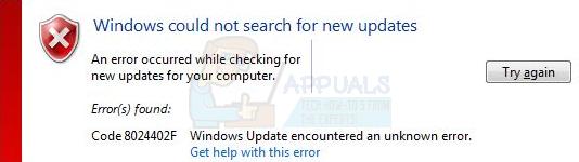 How to Fix the Windows Update Error 8024402F