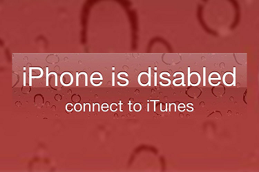 iphone is disabled connect to itunes without restoring best fix remove forgotten passcode on iphone 21193