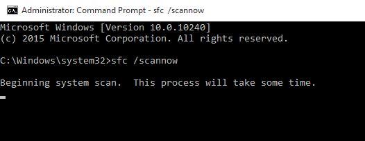 Sfc /Scannow Windows 10