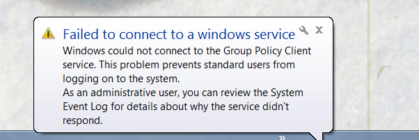Fix: Failed to connect to Windows service