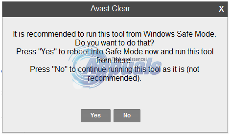 eset removal tool without safe mode