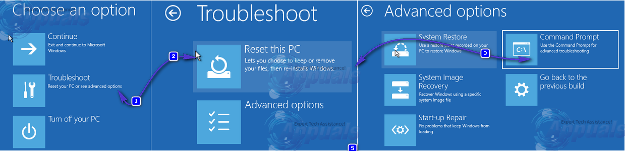 how to solve reboot and select proper boot device