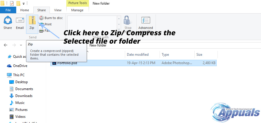 windows 10 how to open zipped files