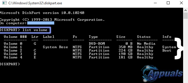 how to delete all partitions using diskpart