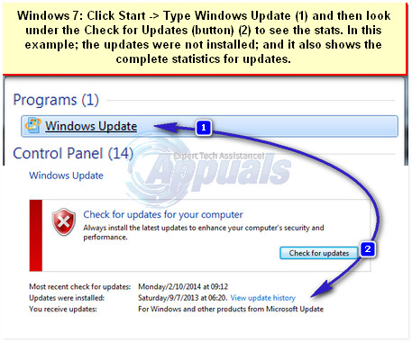 how to manually install windows 7 updates