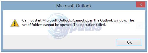 Fix: Outlook Error