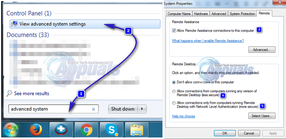 How To Enable RDP In Windows 7 Home Premium - Appuals com