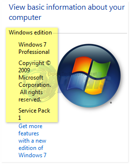 how to tell which version of windows i have