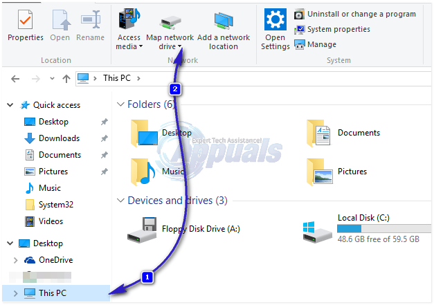 best guide  how to map a network drive in windows 10