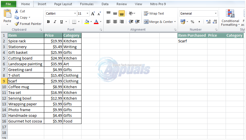 how to use vlookup in excel 2003