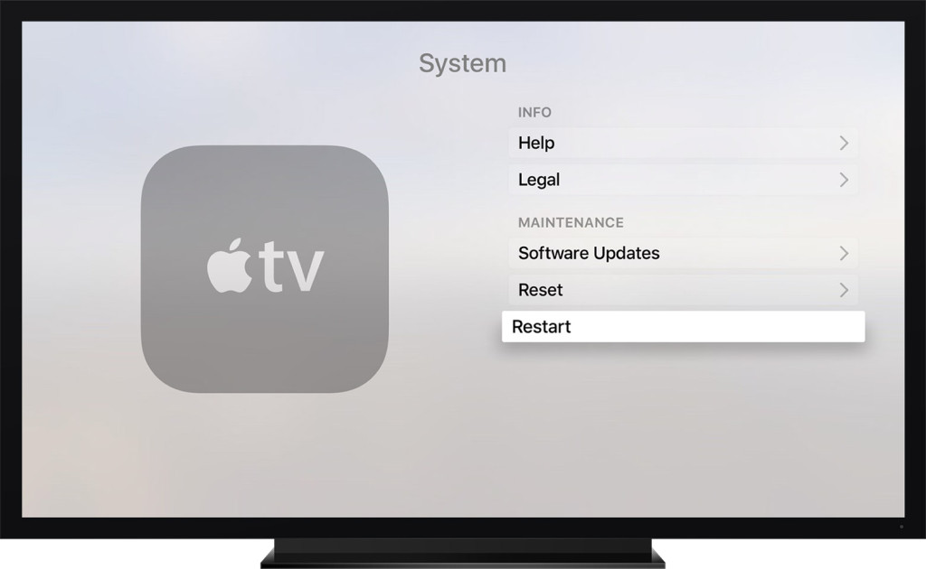 Apple TV can develop a variety of issues and can stop communicating with your TV How to Reset / Restore / Restart Apple TV