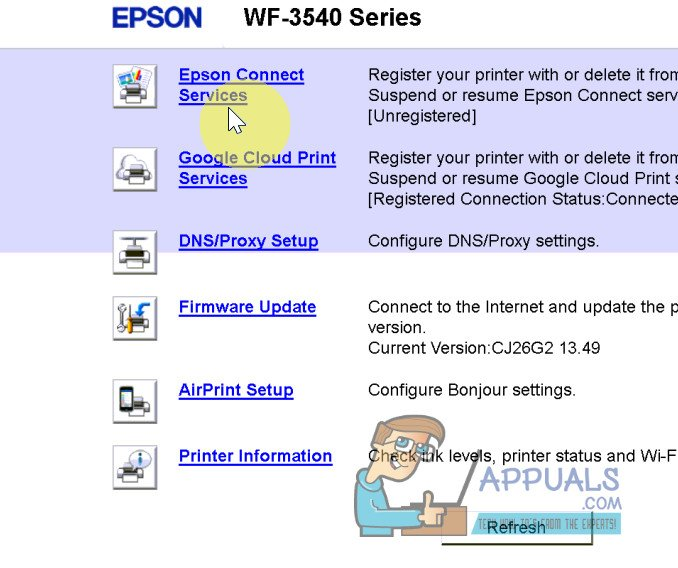 How to Scan To Email On A Epson WF-3540 - Appuals com