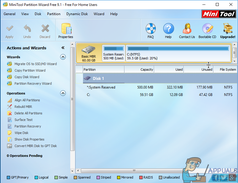 How to Resize C or Any Other Partition - Appuals com