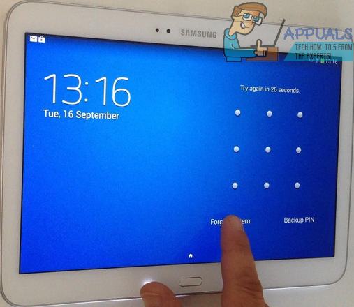 SOLVED: Forgotten The Password To Your Samsung Galaxy Tab