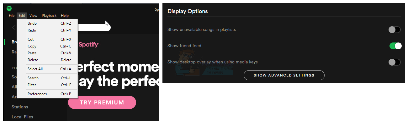 How to Turn Off Spotify Overlay on Windows 10 - Appuals com