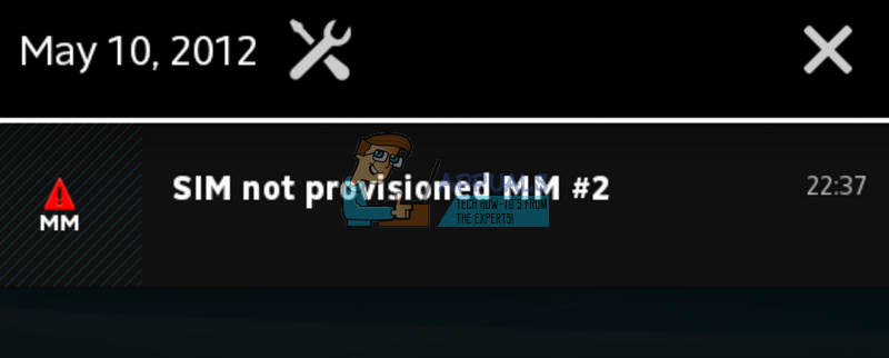 Fix: SIM Not Provisioned MM2 - Appuals com