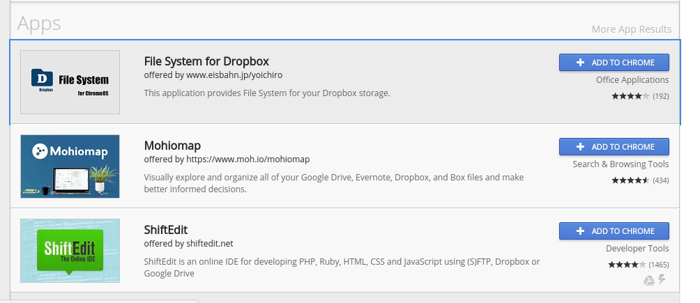How to add Dropbox or OneDrive to the Files App on Chrome OS