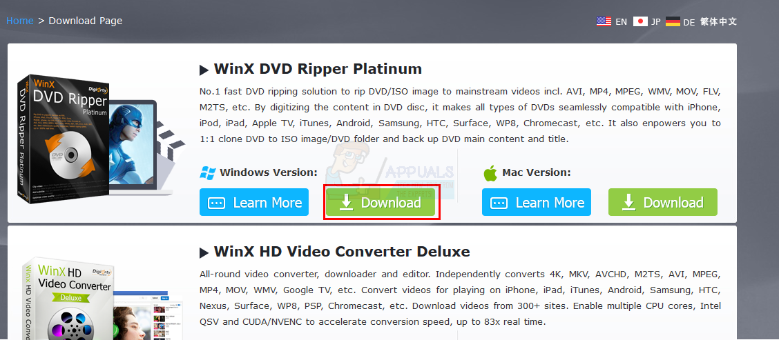 How to Rip DVDs to Windows Easily - Appuals com