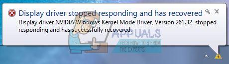 Fix: NVIDIA Kernel Mode Driver Crash - Appuals com