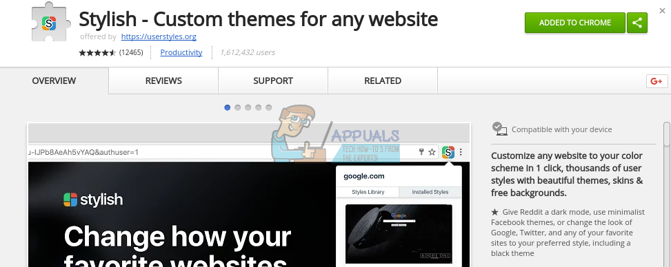 How to Install Google Docs Dark Theme - Appuals com