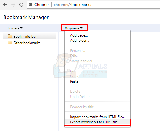 How to Export Bookmarks on Chrome, Firefox and Edge