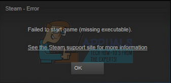 Fix: Failed to start game (missing executable) - Appuals com