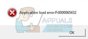 load error p 0000065432