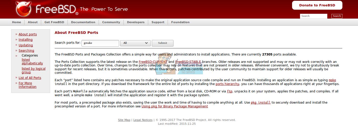 Fix: GNU make is required - Appuals com