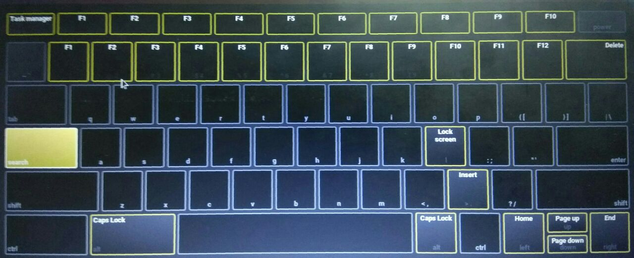 how to use insert key on acer laptop
