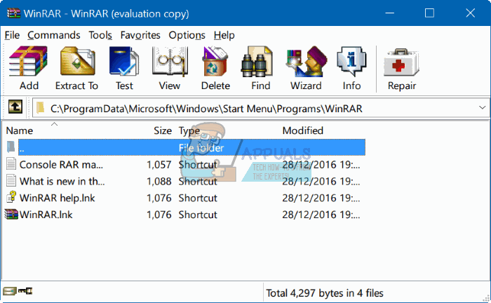 How to Uninstall WinRar From Windows 7/8/10 - Appuals com