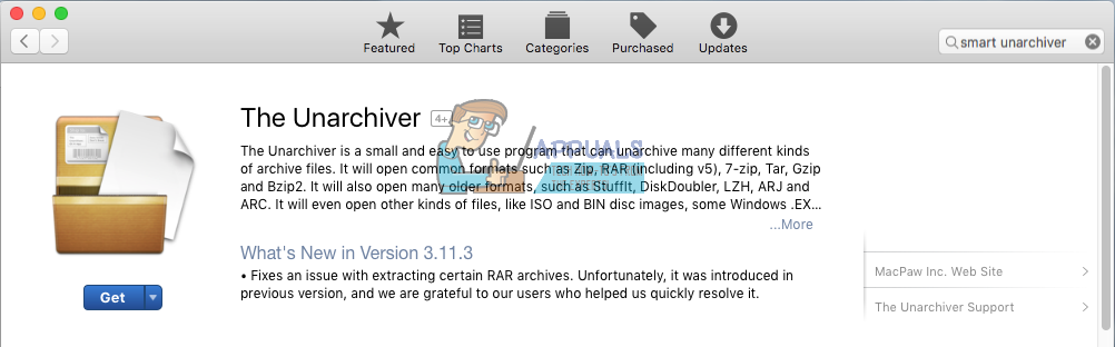 How to Extract and Open RAR Files on MacOS - Appuals com