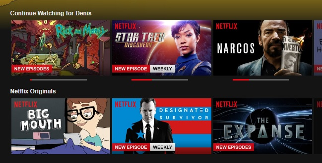 List Of Netflix Films