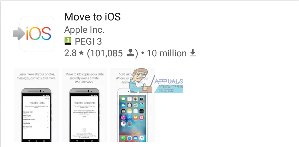 How to Migrate from an Android Phone to an iPhone - Appuals com