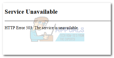 How to Fix HTTP Error 503 'Service Unavailable' - Appuals com