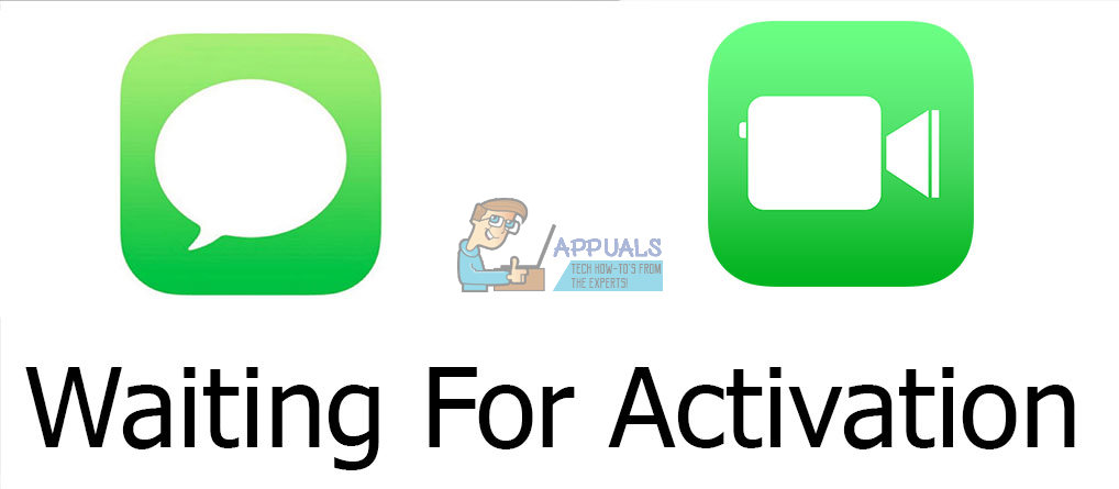 facetime and imessage activation error on iphone