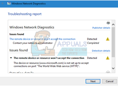 Fix: The Remote Device or Resource won\u0027t Accept the Connection