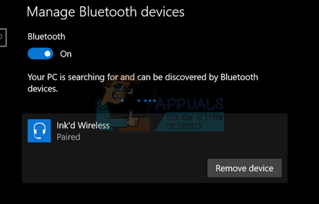 Fix: Bluetooth Paired but Not Connected - Appuals com