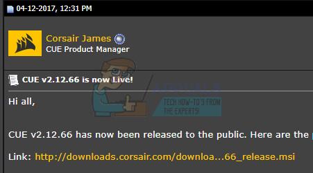 Fix: Corsair Utility Engine Update Error - Appuals com