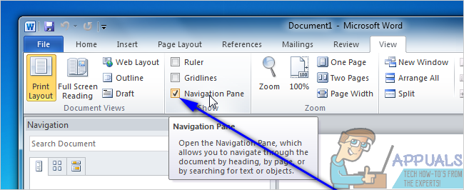 How to Move Pages in Microsoft Word - Appuals.com