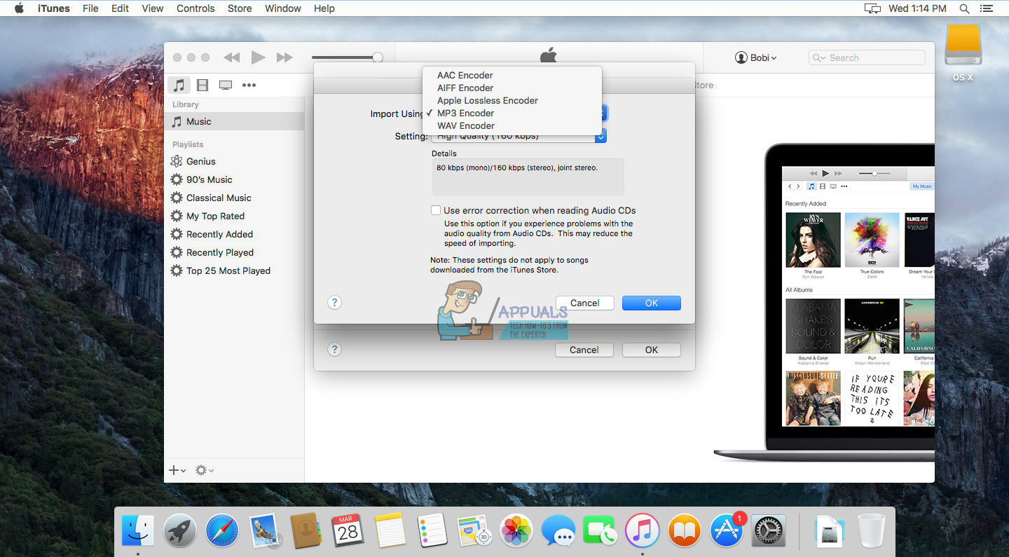 How to Convert M4A to MP3 on a MacOS - Appuals com