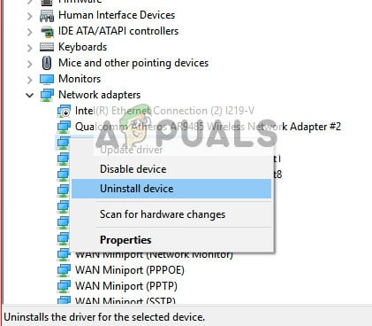 Fix: Windows could not find a Driver for your Network