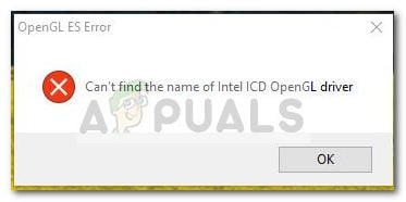 Fix: Can't find the name of the Intel ICD OpenGL driver