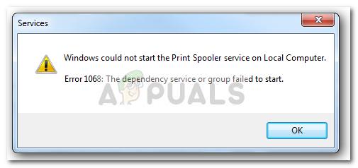 Fix: Spooler Service Error 1068 - Appuals com