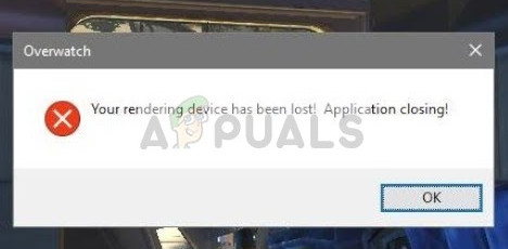 Fix: Your Rendering Device has been lost - Appuals com